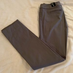 The Limited gray straight leg dress pants 4R